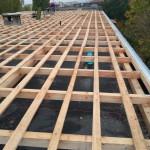 acoperis structura de lemn